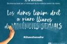 manifest institucional unitari del Dia Internacional per a l'eliminació de la violència envers les dones